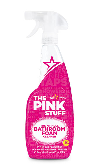The Pink Stuff - The Miracle Bathroom Foam Cleaner