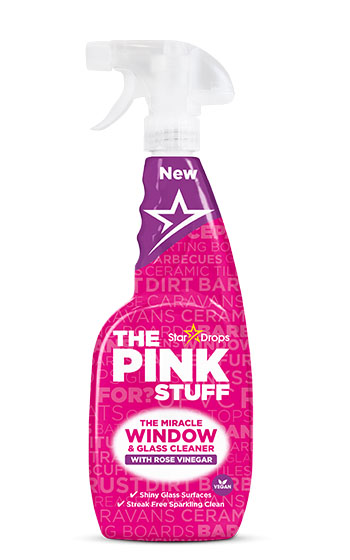 The Pink Stuff - The Miracle Window Cleaner with Rose Vinegar