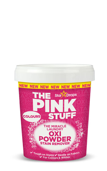 The Pink Stuff - The Miracle Laundry Oxi Powder Stain Remover for Colours